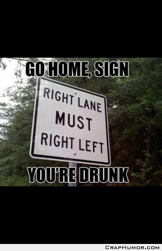 go home sign