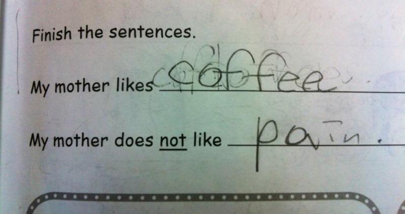 mother likescoffee