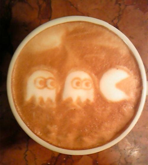 pacman latte