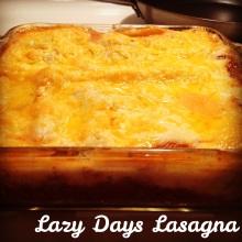 Lazy-Days Lasagna