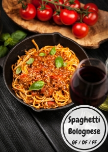 Spaghetti Bolognese - Dairy Free, Gluten Free, Freezer Friendly and Full of Yumminess! (Honestly, I make this almost weekly, it's crazy!)
