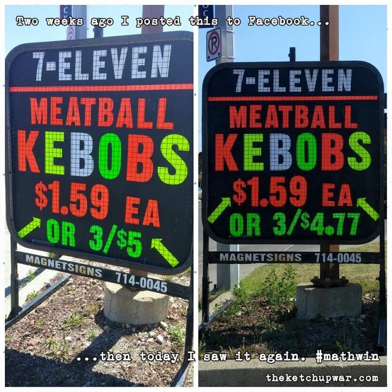 7-11 Meatball Kebobs