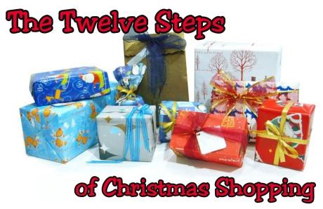 The Twelve Steps of Christmas Shopping