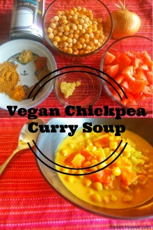 Vegan Chickpea Curry Soup